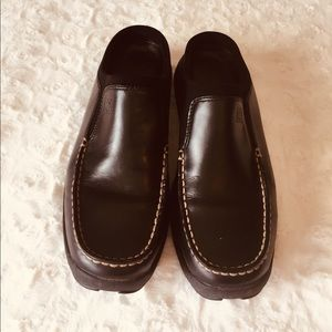 Cole Haan Country Nike Air Black slip on shoes 10B